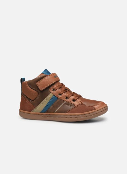 Sneakers Geox Jr Garcia Boy J94B6B Bruin achterkant