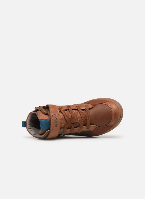 Sneakers Geox Jr Garcia Boy J94B6B Bruin links