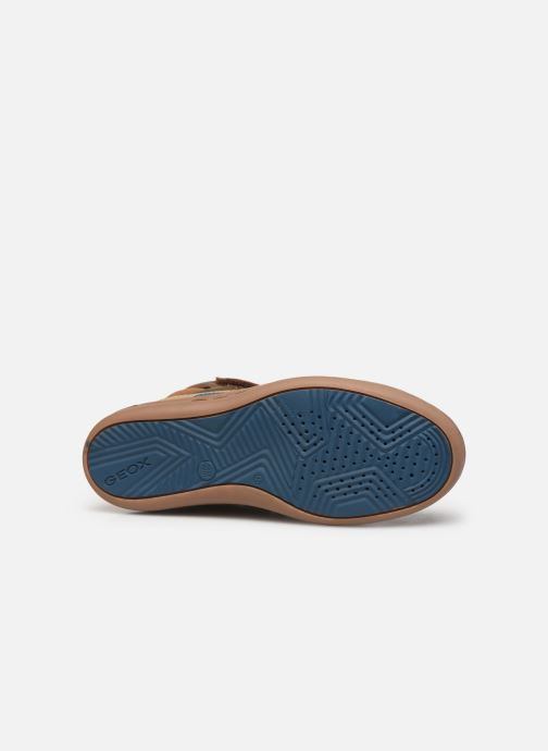 Sneakers Geox Jr Garcia Boy J94B6B Bruin boven