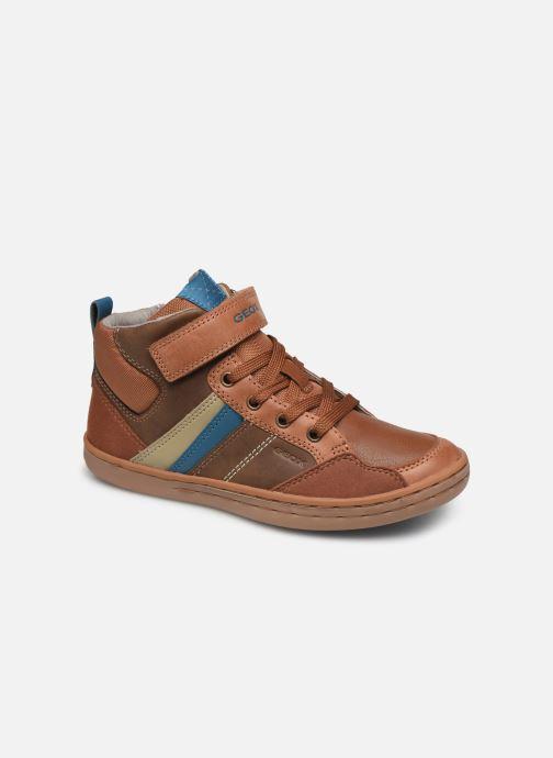 Sneakers Geox Jr Garcia Boy J94B6B Bruin detail