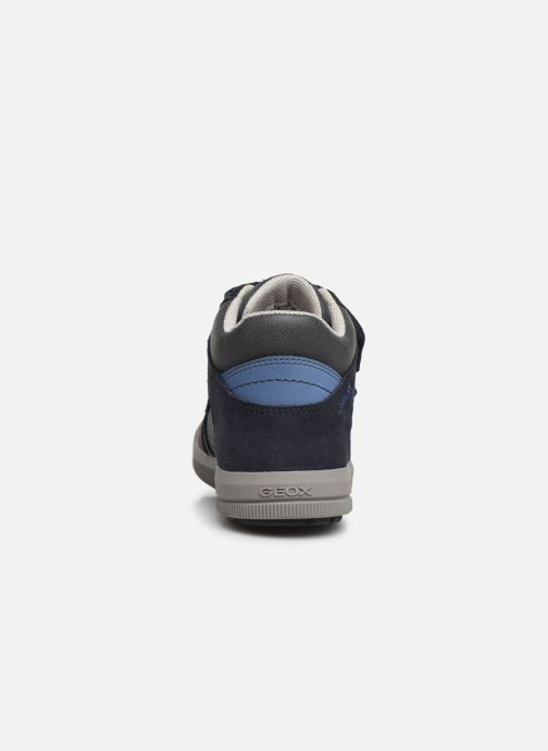 Sneakers Geox J Arzach Boy J944AB Blauw rechts