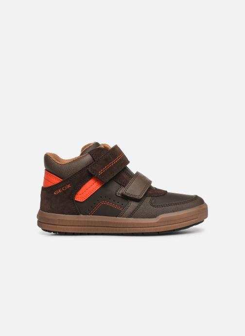 Sneakers Geox J Arzach Boy J944AB Bruin achterkant