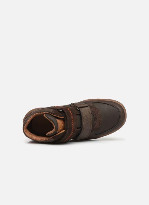Sneakers Geox J Arzach Boy J944AB Bruin links