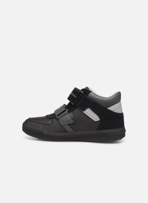 Sneakers Geox J Arzach Boy J944AB Zwart voorkant