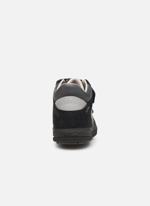 Baskets Geox J Arzach Boy J944AB Noir vue droite