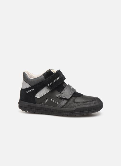 Sneakers Geox J Arzach Boy J944AB Zwart achterkant