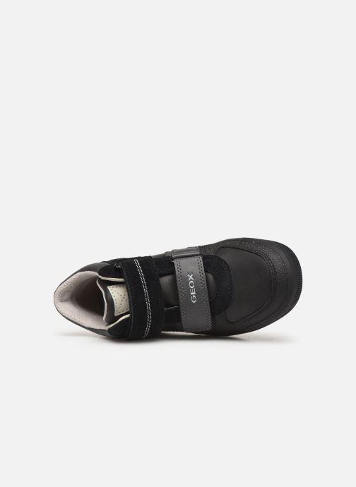 Sneakers Geox J Arzach Boy J944AB Zwart links