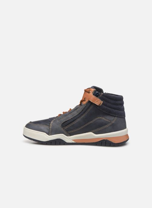 Sneakers Geox J Perth Boy J947RD Blauw voorkant