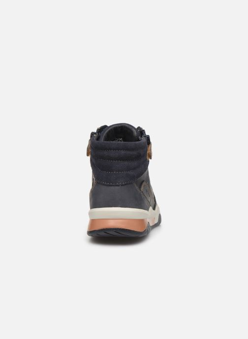 Sneakers Geox J Perth Boy J947RD Blauw rechts