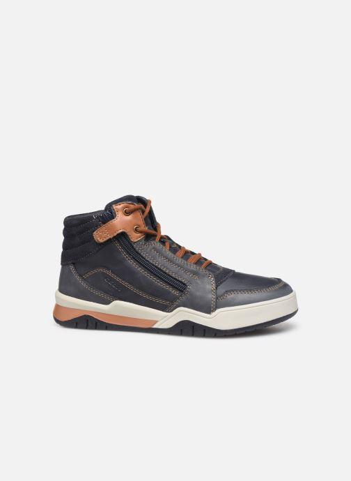 Sneakers Geox J Perth Boy J947RD Blauw achterkant
