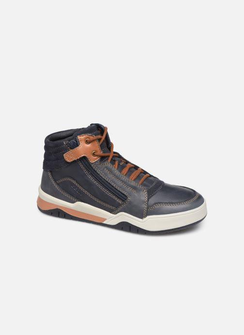 Baskets Geox J Perth Boy J947RD Bleu vue détail/paire