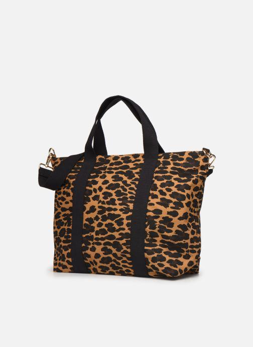 Handtassen Petite mendigote Clea Leopard Zwart model