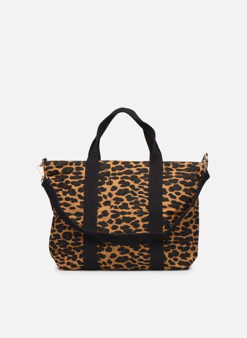 Handtassen Petite mendigote Clea Leopard Zwart voorkant