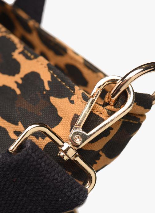 Handtassen Petite mendigote Clea Leopard Zwart links