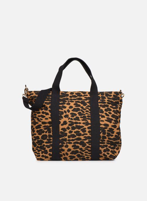 Handtassen Petite mendigote Clea Leopard Zwart detail