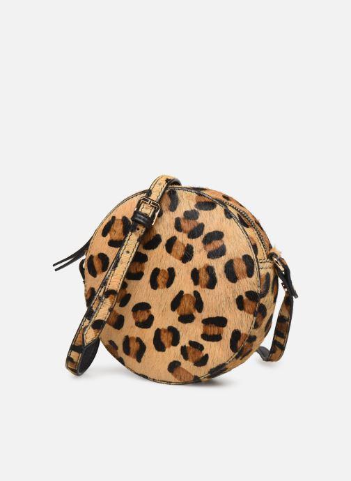 Handtaschen Petite mendigote Sac Ringo Hair On braun schuhe getragen