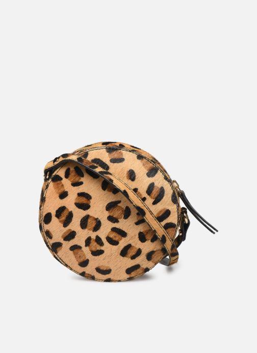Handtaschen Petite mendigote Sac Ringo Hair On braun ansicht von vorne