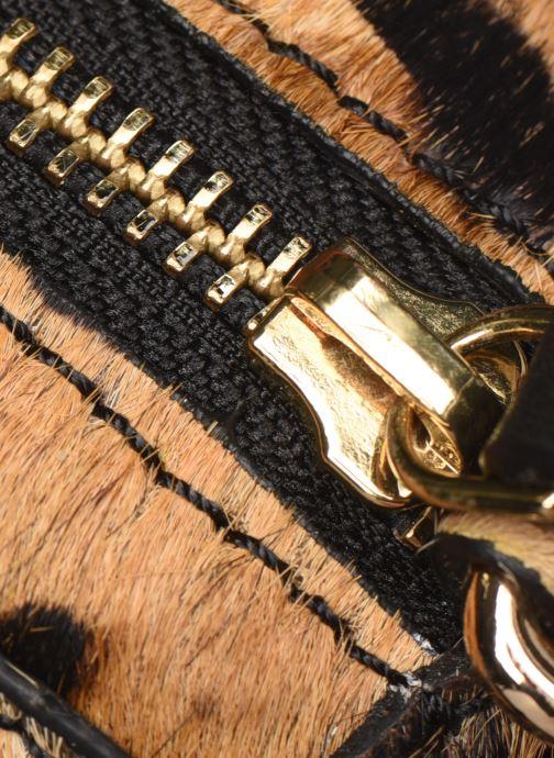 Handtaschen Petite mendigote Sac Ringo Hair On braun ansicht von links
