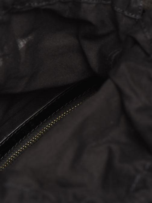 Sacs à main Petite mendigote Sac Louis Patent leather croco Noir vue derrière