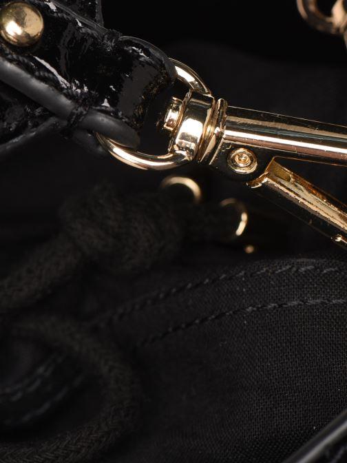 Sacs à main Petite mendigote Sac Louis Patent leather croco Noir vue gauche