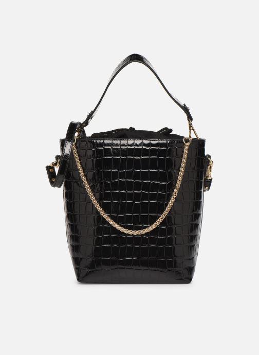 Sacs à main Petite mendigote Sac Louis Patent leather croco Noir vue détail/paire