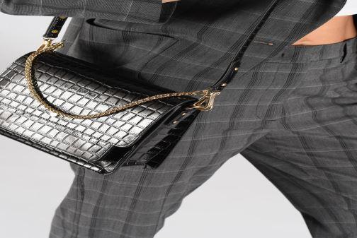 Handtassen Petite mendigote Sac Charles Patent leather croco Bordeaux onder