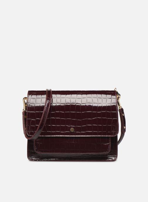 Handtassen Petite mendigote Sac Charles Patent leather croco Bordeaux detail