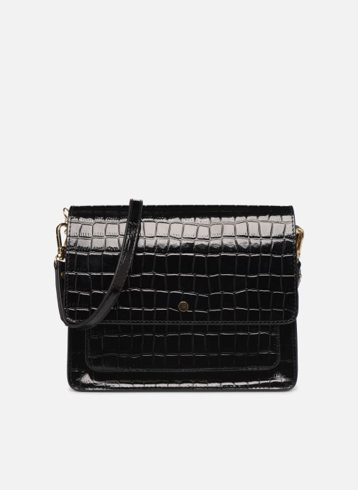 Handbags Petite mendigote Sac Charles Patent leather croco Black detailed view/ Pair view
