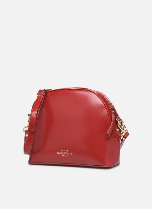 Handtaschen Petite mendigote Sac Gaspard Pu  coated leather rot schuhe getragen