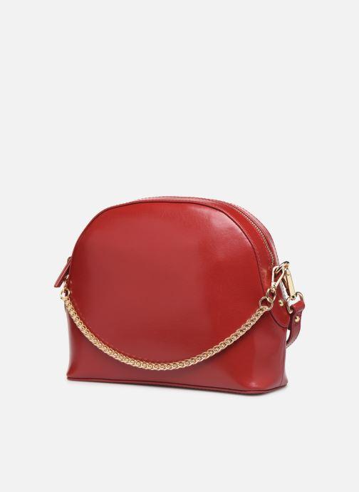 Handtaschen Petite mendigote Sac Gaspard Pu  coated leather rot ansicht von rechts