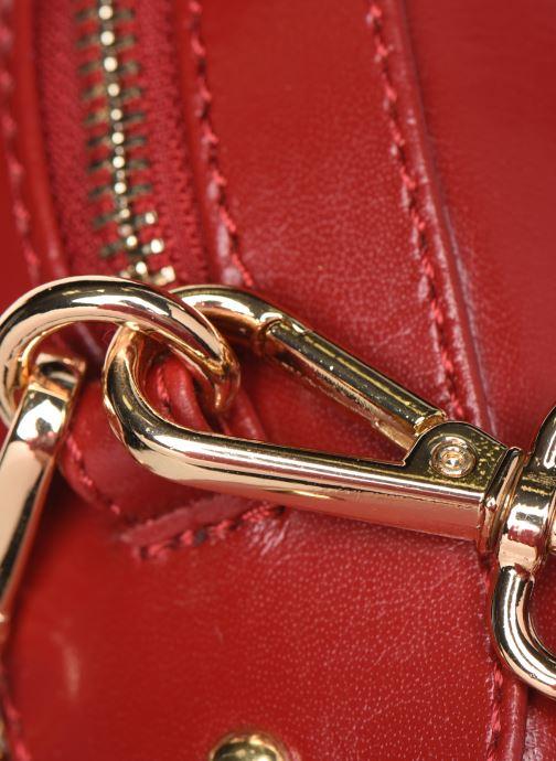 Handtaschen Petite mendigote Sac Gaspard Pu  coated leather rot ansicht von links