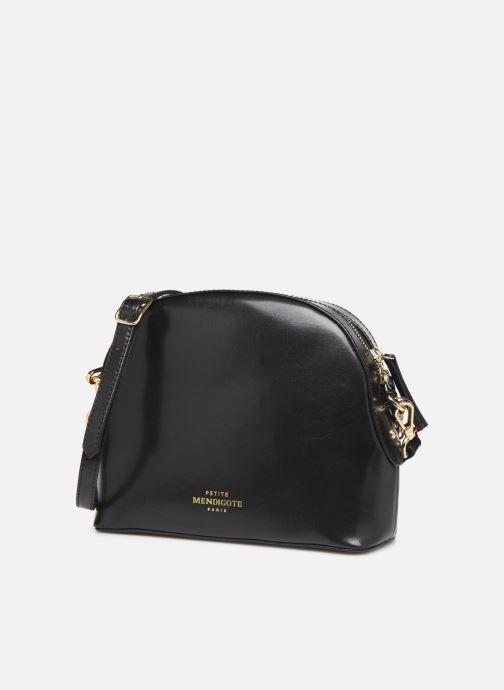 Handtaschen Petite mendigote Sac Gaspard Pu  coated leather schwarz schuhe getragen
