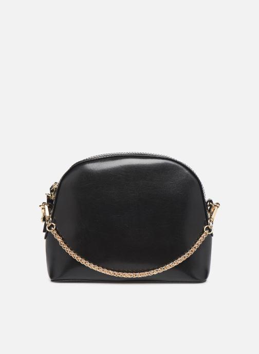 Sacs à main Petite mendigote Sac Gaspard Pu  coated leather Noir vue face