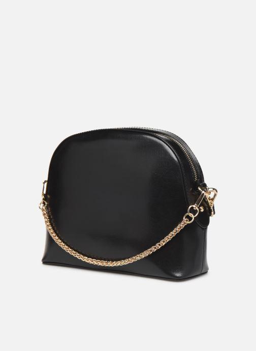 Sacs à main Petite mendigote Sac Gaspard Pu  coated leather Noir vue droite