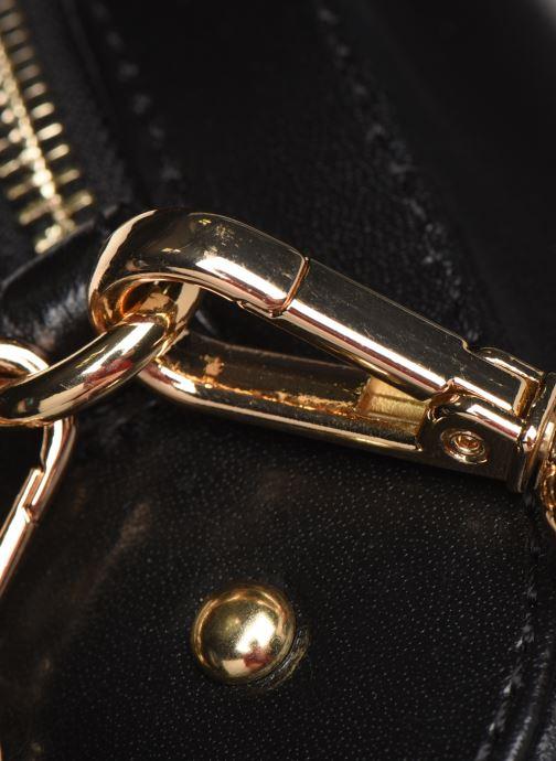 Sacs à main Petite mendigote Sac Gaspard Pu  coated leather Noir vue gauche