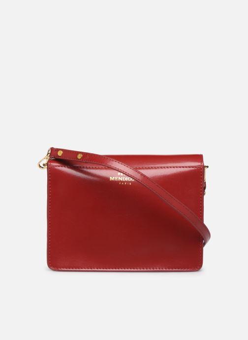 Sacs à main Petite mendigote Sac Jules Pu  coated leather Rouge vue face