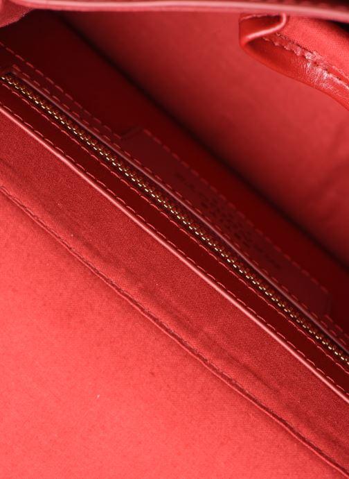 Sacs à main Petite mendigote Sac Jules Pu  coated leather Rouge vue derrière