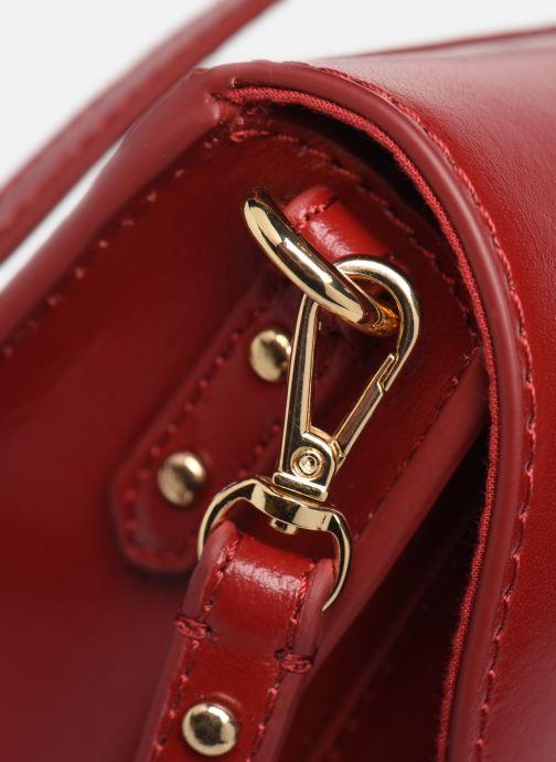 Sacs à main Petite mendigote Sac Jules Pu  coated leather Rouge vue gauche