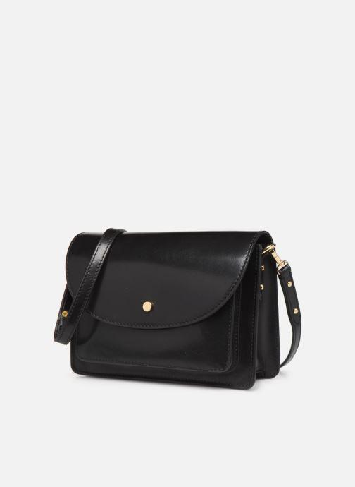 Handtassen Petite mendigote Sac Jules Pu  coated leather Zwart model