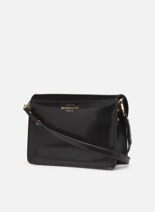 Handtassen Petite mendigote Sac Jules Pu  coated leather Zwart rechts