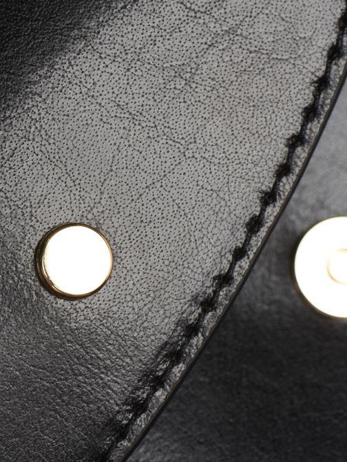 Borse Petite mendigote Sac Jules Pu  coated leather Nero immagine sinistra