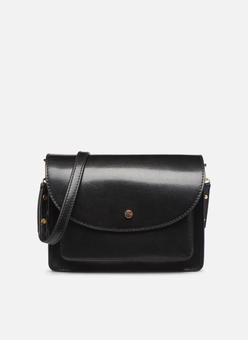 Handtassen Petite mendigote Sac Jules Pu  coated leather Zwart detail