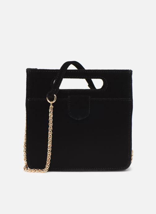 Handbags Petite mendigote Sac GAEL velvet Black detailed view/ Pair view