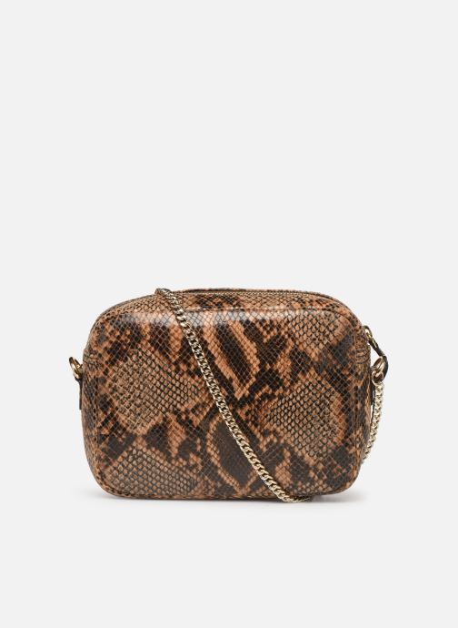 Bolsos de mano Petite mendigote Sac Jerry foil embossed python Marrón vista de frente
