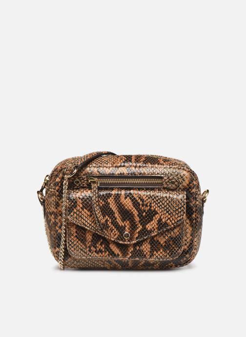 Bolsos de mano Petite mendigote Sac Jerry foil embossed python Marrón vista de detalle / par