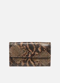 Porte feuille Pat Foil embossed Python