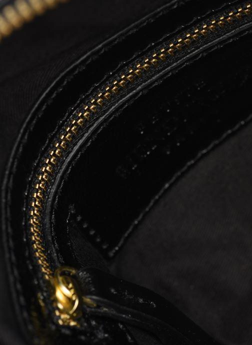 Sacs à main Petite mendigote Sac Lunch Cow nappa & patent leather Noir vue derrière