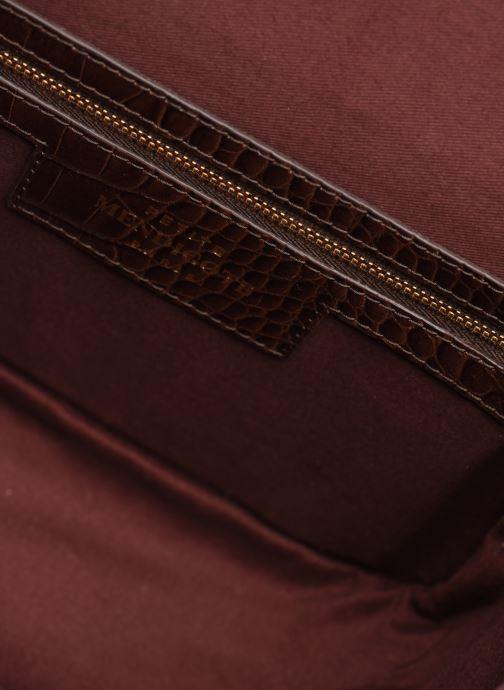 Handtassen Petite mendigote Sac Romeo Croco Embossed leather Bruin achterkant