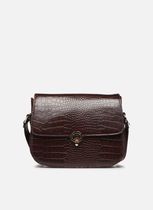 Handtassen Petite mendigote Sac Romeo Croco Embossed leather Bruin detail