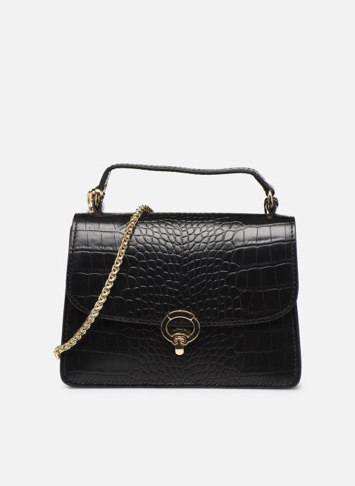 Handtassen Petite mendigote Sac ElvisCroco Embossed leather Zwart detail